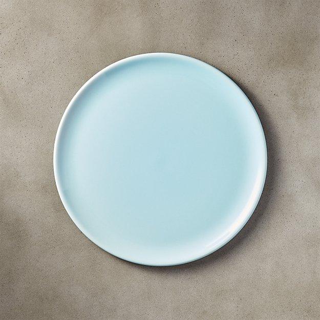 Level Light Blue Salad Plate - Image 1 of 11