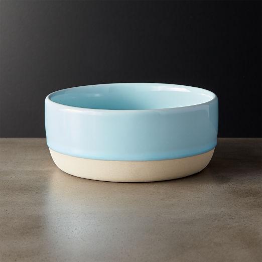 Level Light Blue Soup Bowl