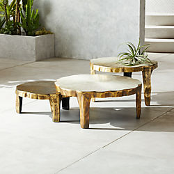 Lilly 3 Piece Nesting Table Set