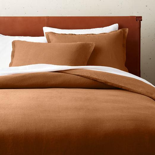 Linen Copper Bedding