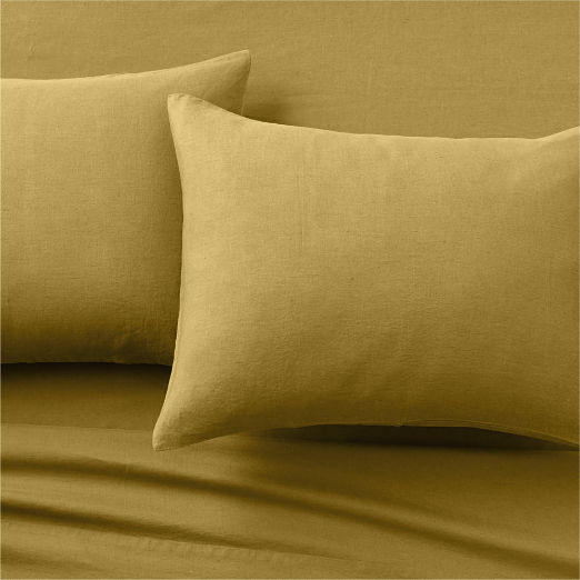 Linen Dijon Sheet Set