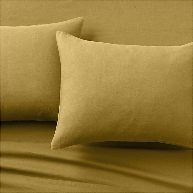 Linen Dijon Sheet Set - Image 1 of 3