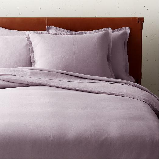 Linen Orchid Bedding