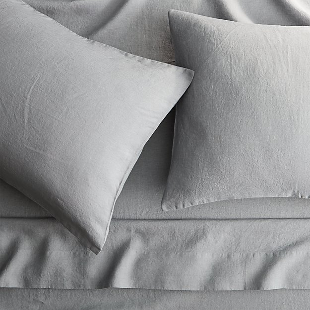 Linen Cement Full Sheet Set - Image 1 of 10