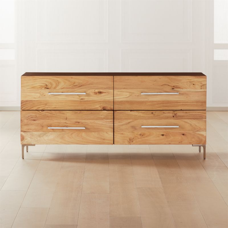 Shop Link Acacia Low Dresser from CB2 on Openhaus
