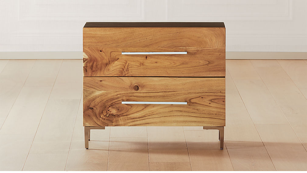 Link Acacia Nightstand - Image 1 of 7