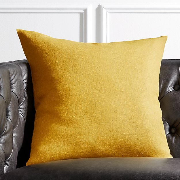 "20"" Linon Acid Green Pillow - Image 1 of 4"
