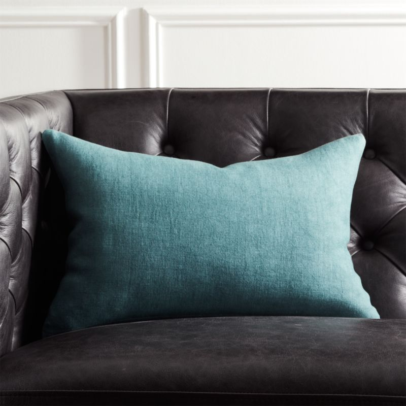 pillow decorative cover teal pillows ie etsy market solid of set plain il accent