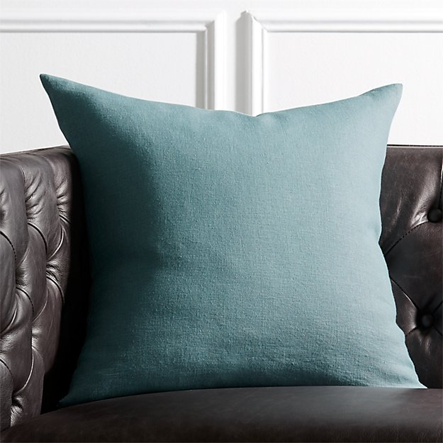 "20"" Linon Arctic Blue Pillow - Image 1 of 4"