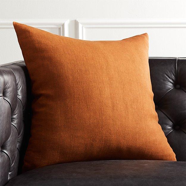 "20"" Linon Copper Pillow - Image 1 of 12"
