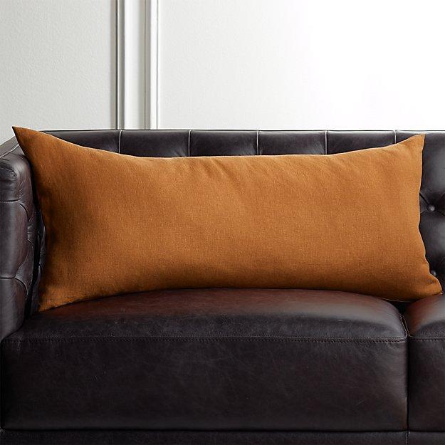 "36""x16"" Linon Copper Pillow - Image 1 of 4"