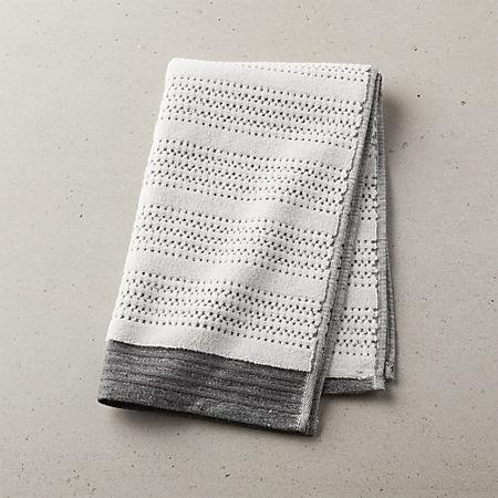 Liv Striped Hand Towel Reviews Cb2