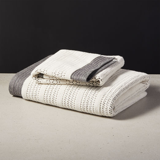 Liv Striped Bath Towels