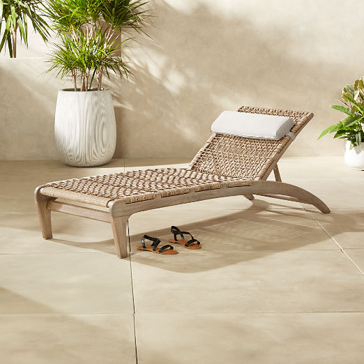Lodi Sun Lounger with Headrest