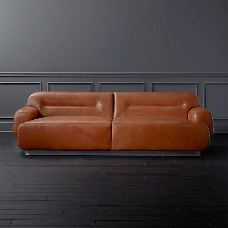 Fantastic Logan Brown Leather Sofa Spiritservingveterans Wood Chair Design Ideas Spiritservingveteransorg