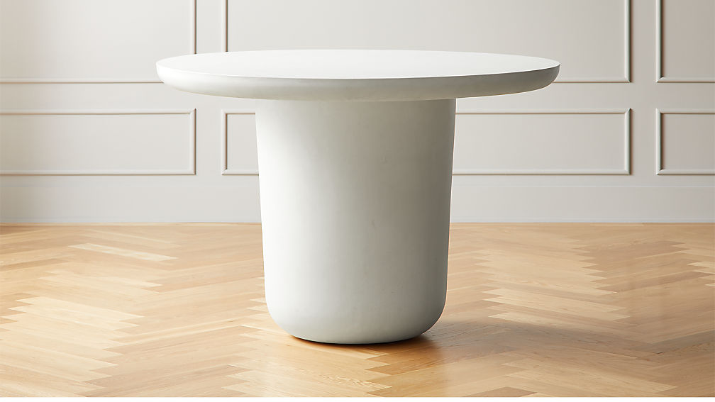 Lola Round Concrete Dining Table - Image 1 of 6