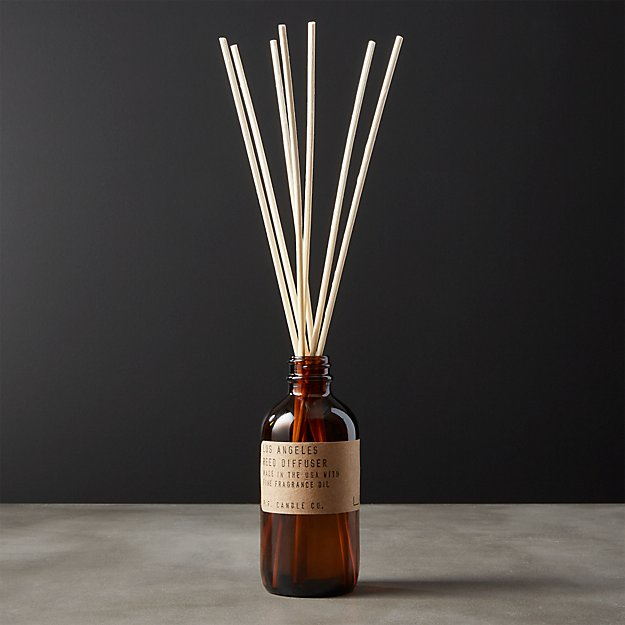 los angeles reed diffuser reviews cb2. Black Bedroom Furniture Sets. Home Design Ideas