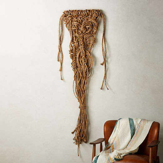 Love and Gratitude Rope Wall Decor
