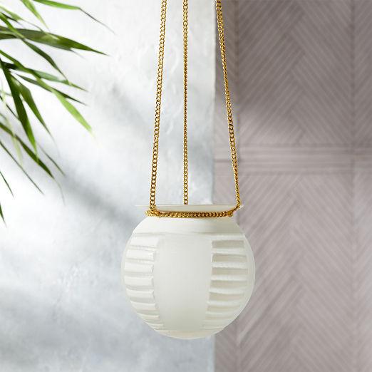Hanging Tea Light Lantern