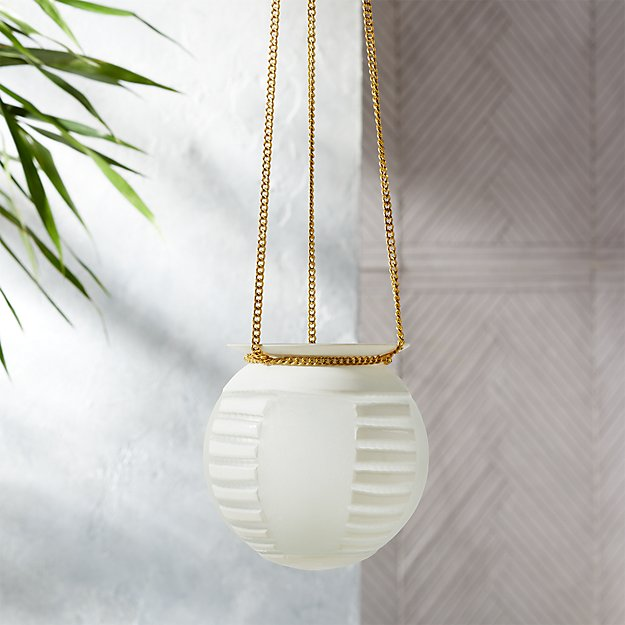 Hanging Tea Light Lantern - Image 1 of 6