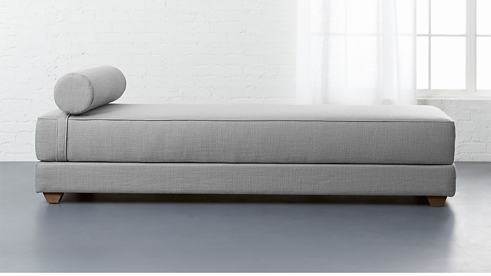 Lubi Silver Grey Sleeper Daybed Reviews Cb2