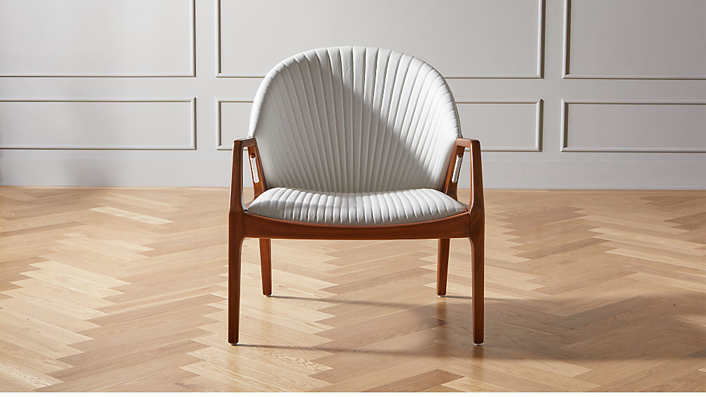 Luisa White Chair - Image 1 of 7