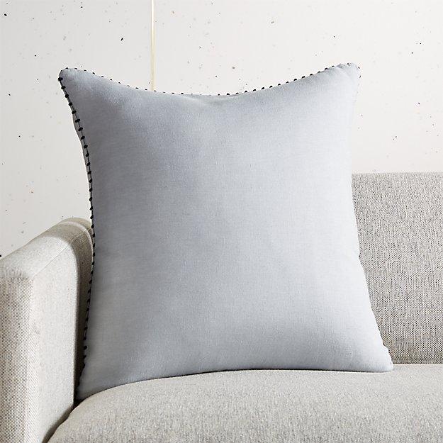 "18"" Lumiar Cement Pillow - Image 1 of 4"