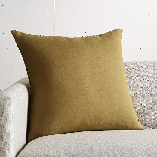 """18"""" Lumiar Dijon Pillow"""