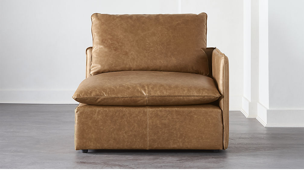 Lumin Leather Corner Chair - Image 1 of 6