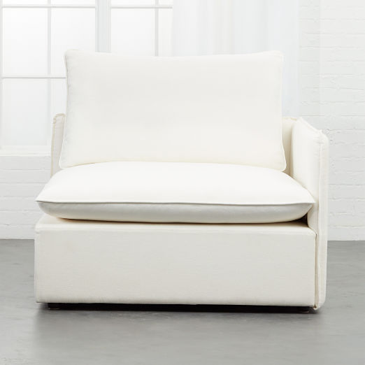 White Corner Chairs | CB2