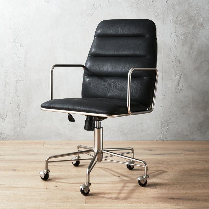 & modern swivel chairs | CB2