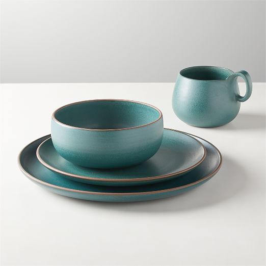 Madera Green Terracotta Dinnerware