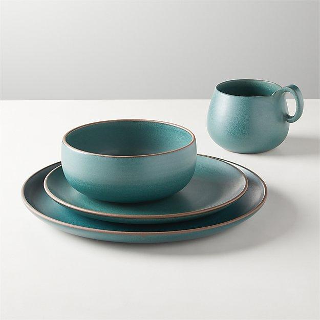 Madera Green Terracotta Dinnerware - Image 1 of 3