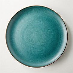 Madera Green Terracotta Dinner Plate