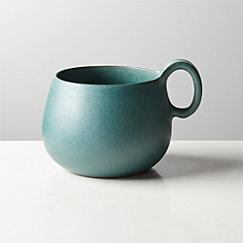 Madera Green Terracotta Mug