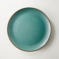 Madera Green Terracotta Salad Plate