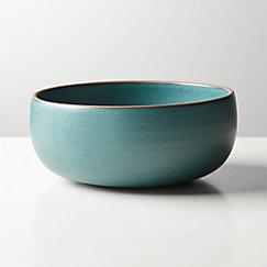 Madera Green Terracotta Soup Bowl