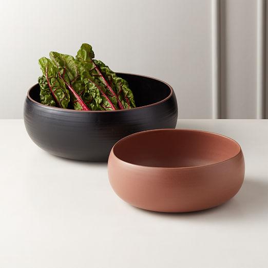Madera Terracotta Serving Bowls