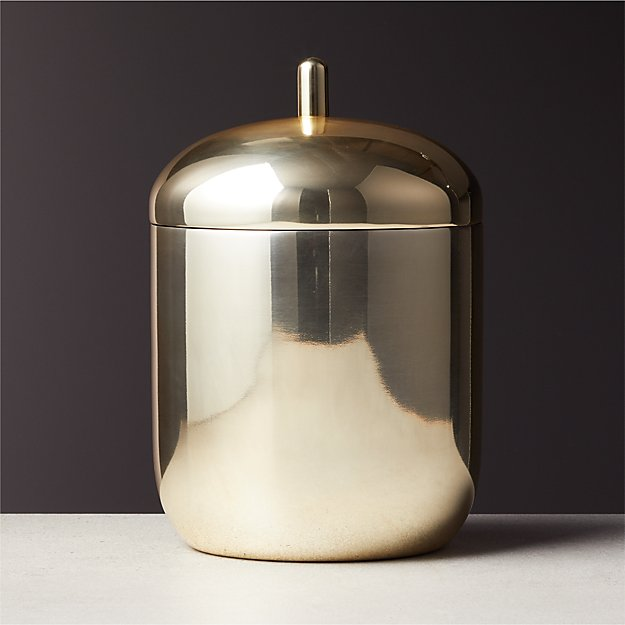 Mae Champagne Gold Ice Bucket - Image 1 of 6