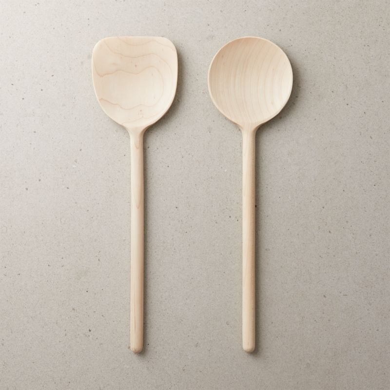Maple Wood Spoons | CB2
