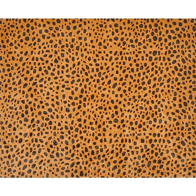Mara Cheetah Rug 8 X10 Reviews Cb2