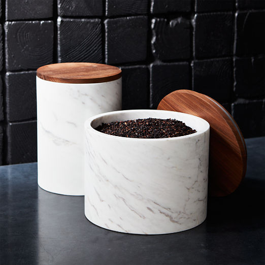 Ishi Marble Canisters