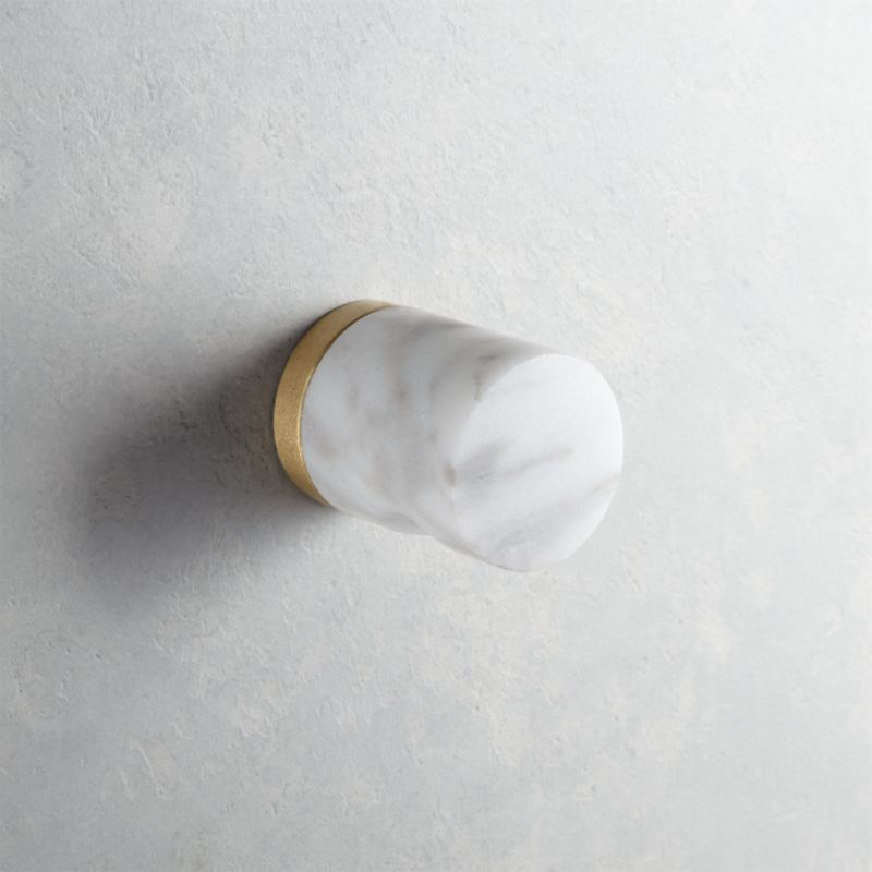 Marble Cabinet Knobs Pulls And Handles Cb2