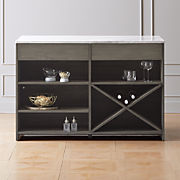 Cool Bar Carts And Modern Dining Room Storage Cb2 Download Free Architecture Designs Scobabritishbridgeorg