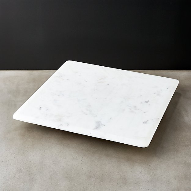 Marble Lazy Susan Reviews Cb2