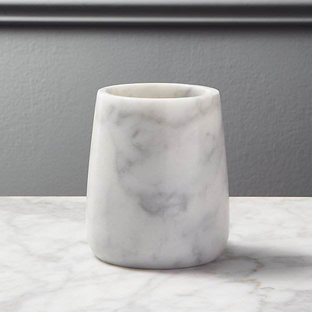 Marble Pencil Cup - Image 1 of 3