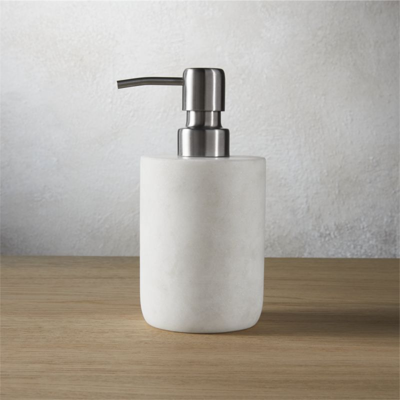 Marble Bathroom Accessories Cb2