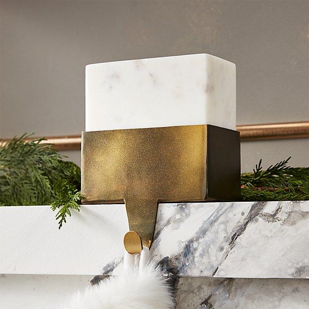 Marble Stocking Holder - Image 1 of 6
