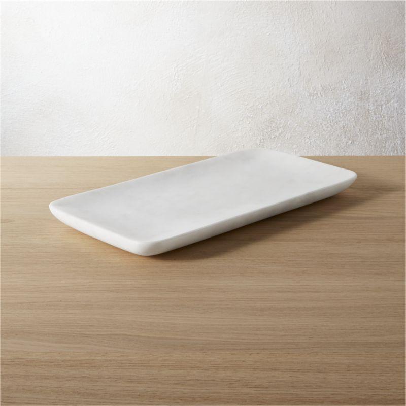 marble tank tray + Reviews | CB2