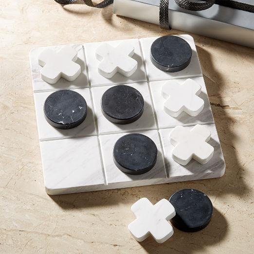 Marble Tic Tac Toe Set